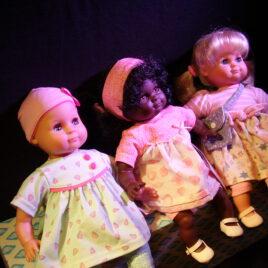 Schildkröt- Puppen
