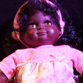 Schildkröt- Puppe dunkel