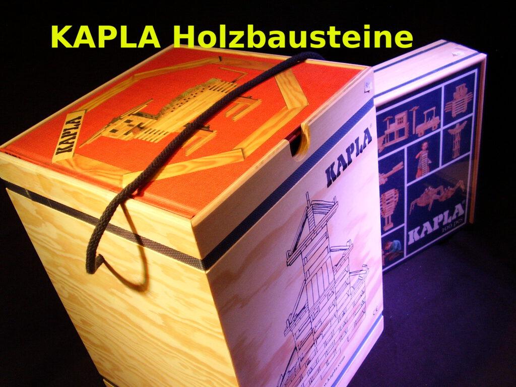 KAPLA Holzbausteine