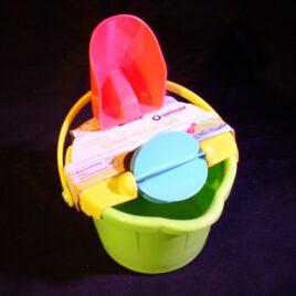 Eimer-Mühle-Set von Spielstabil