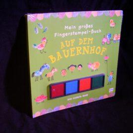 """Fingerstempel-Buch """"Auf dem Bauernhof"""""""