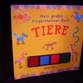 "Fingerstempel-Buch ""Tiere"""